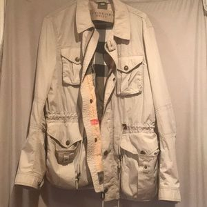 Burberry Britt tan utility coat 🧥